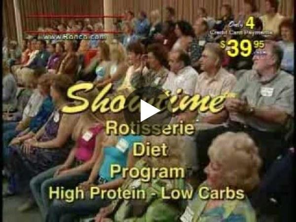 Ronco Showtime Rotisserie & BBQ (Standard Model) FULL Informercial