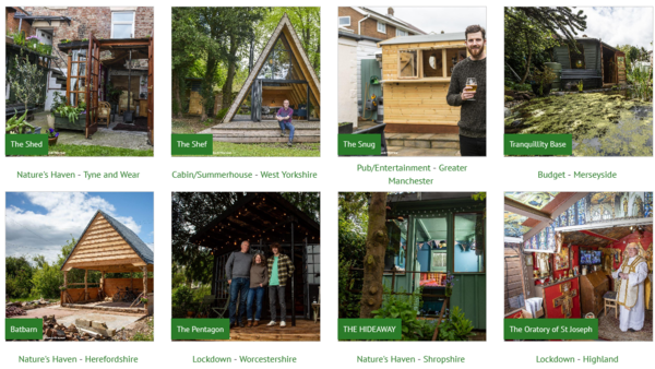 Shed of the year Finalists 2021