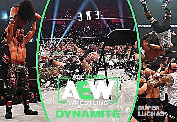 3×3: Lo mejor y lo peor de AEW Dynamite 28 de julio 2021