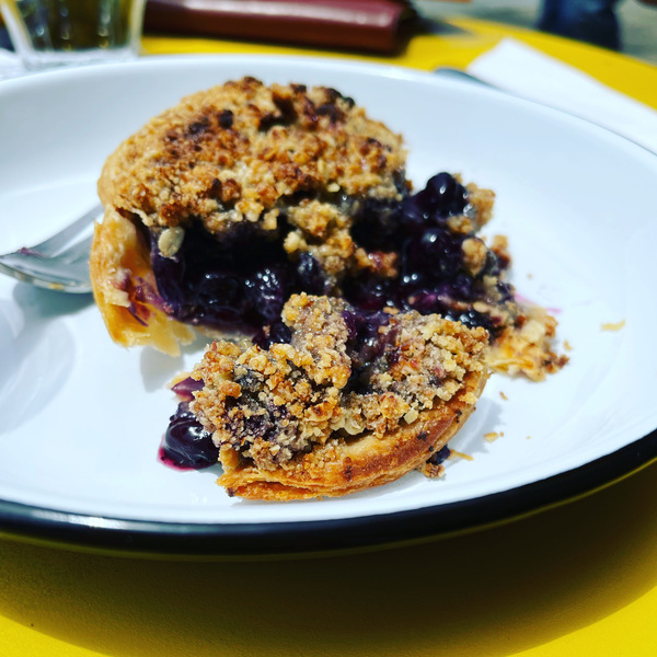 Blueberriest of blueberry handpie from Palm City