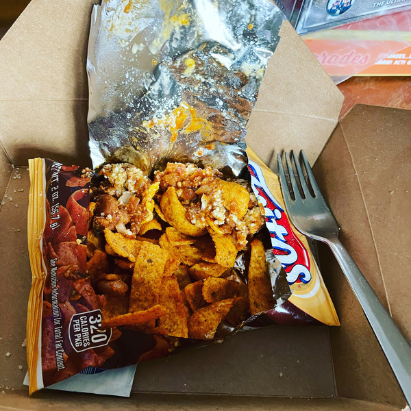 Frito pie done right from Turner's Kitchen