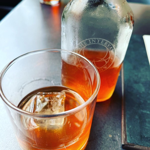 Futurist cocktail at Fort Mason