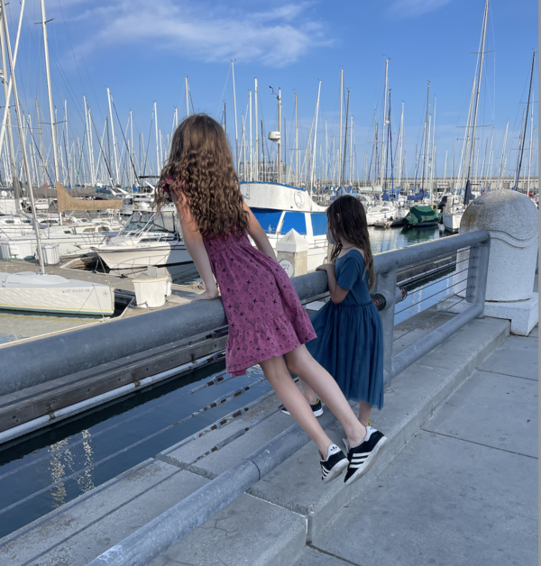 Picking out her yacht