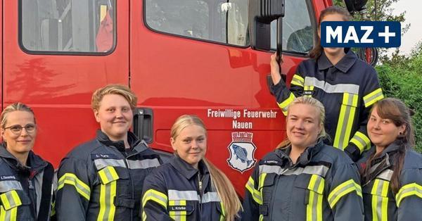 Klein Behnitz: Hier herrscht bei der Feuerwehr jede Menge Frauenpower