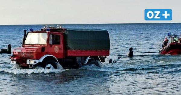 Darum eilte die Feuerwehr am Mittwochabend an den Bansiner Strand