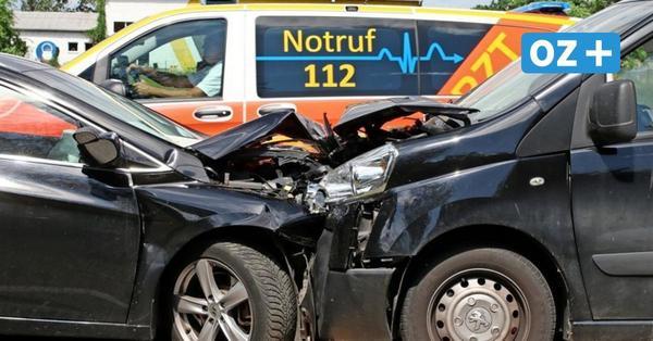 Schwerer Unfall bei Relzow auf der B 110: Elf Verletzte – darunter mehrere Kinder