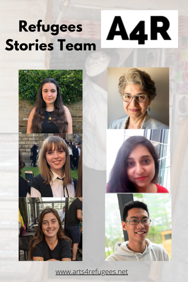 This is our Refugees Stories Team
