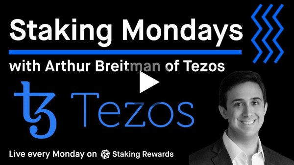 Proof of Stake vs. Proof of Work with Arthur Breitman of Tezos ($XTZ)