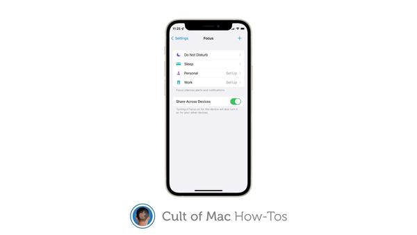 How to create and customize Focus modes in iOS and iPadOS 15