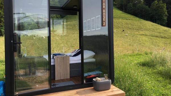 Hotels in der Schweiz: Schlafen mit Blick auf die Sterne