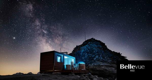 Million Stars HotelEine aussergewöhnliche Übernachtung beim Aletschgletscher