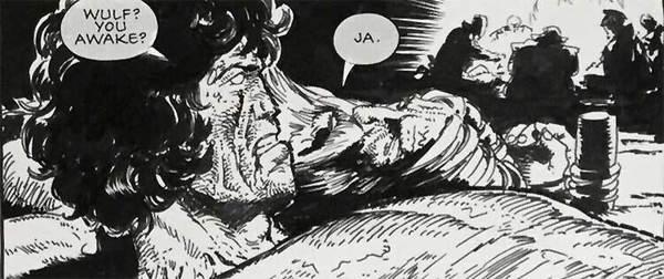 Carlos Ezquerra - Strontium Dog Original Art