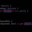 Throwing And asynchronous Swift Properties