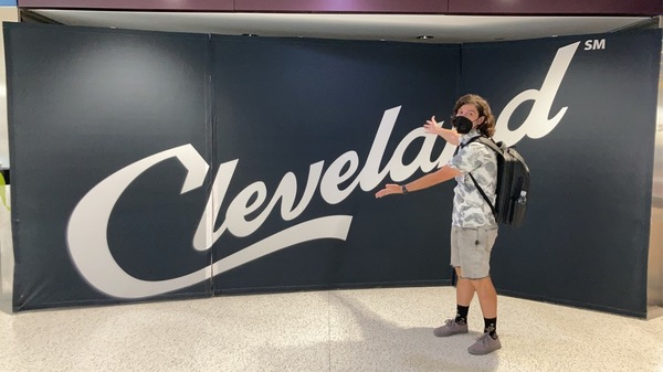 To CLE, an airport that you want to leave right away