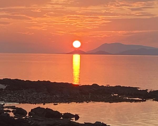 West of Ireland sunset