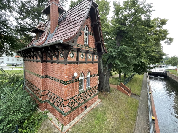 Das Schleusenwärterhaus in Rathenow. (Foto: Christin Schmidt)