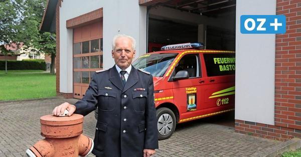 Bastorfs Wehrführer Tremp gibt nach 29 Jahren sein Amt ab