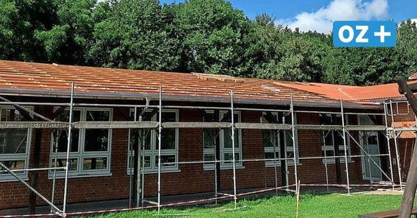 Franzburg: Diebe stehlen Material vom Dach der Sonnenblumen-Schule – das sind die Folgen für die Baufirma