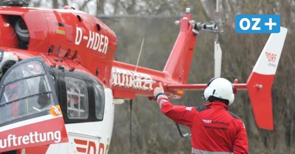 B96 bei Stralsund: Zwei Frauen werden bei Auffahrunfall schwer verletzt