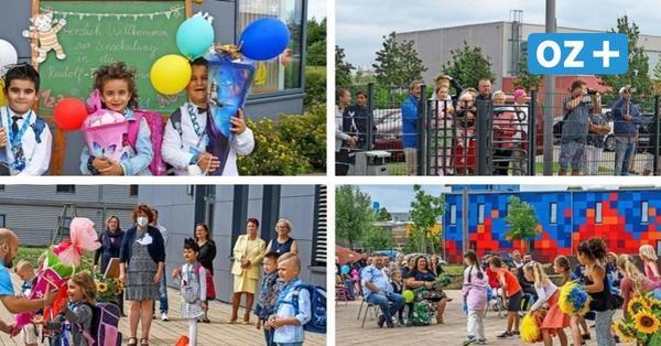 Einschulung 2021 an Wismarer Rudolf-Tarnow-Schule: Mit Abstand und ohne Großeltern