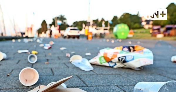 Ausufernde Feiern an der Kiellinie: Auch OB Kämpfer im Kampf gegen den Party-Müll