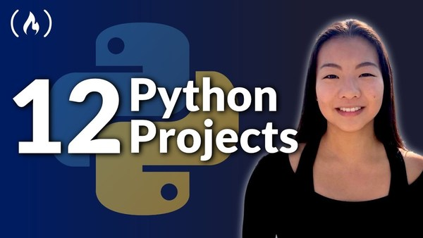 12 Beginner Python Projects - Coding Course by Kylie Ying