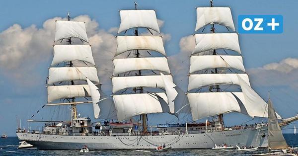 """Segel-Star """"Dar Mlodziezy"""": Hier kommt das größte Schiff der Hanse Sail"""