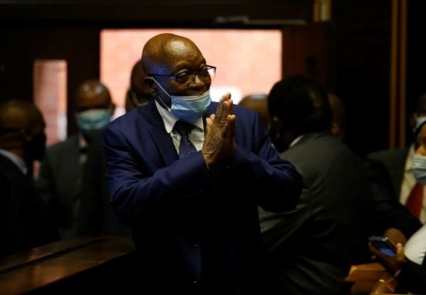 Jailed Zuma's graft case to resume in open court: judge