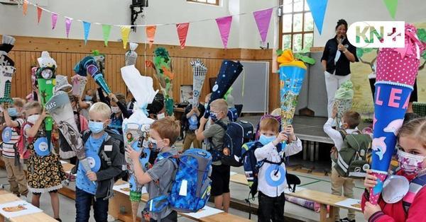 Einschulung in Bad Bramstedt: Tests und Masken gehören nun zum Alltag