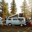 The Nostalgia And Beauty Of Vintage Camper Van Cafes