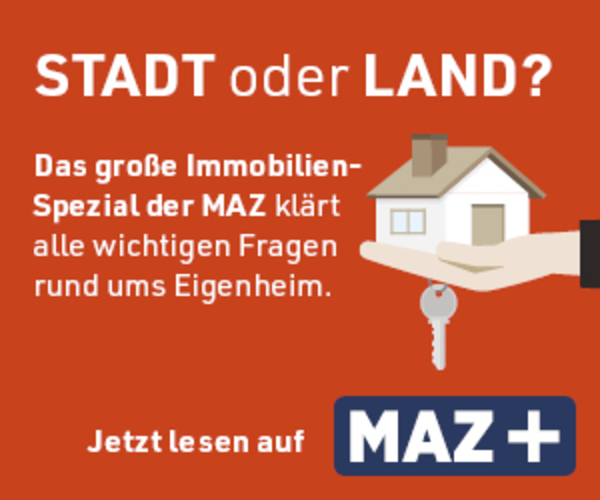 Per Klick aufs Bild geht es zum großen MAZ Immobilien-Spezial.