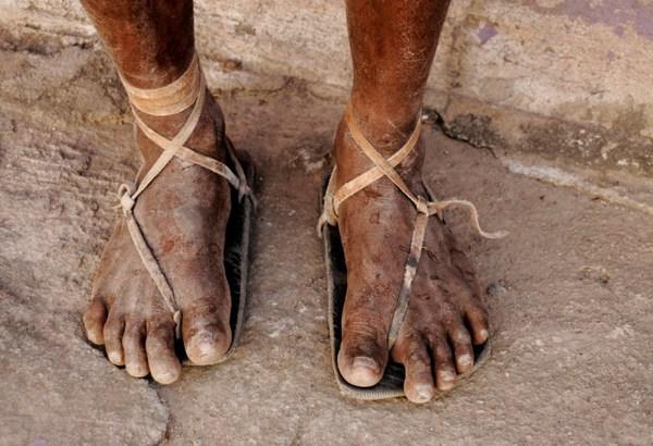 Huaraches: les chaussures du Peuple autochtone des coureurs du Mexique