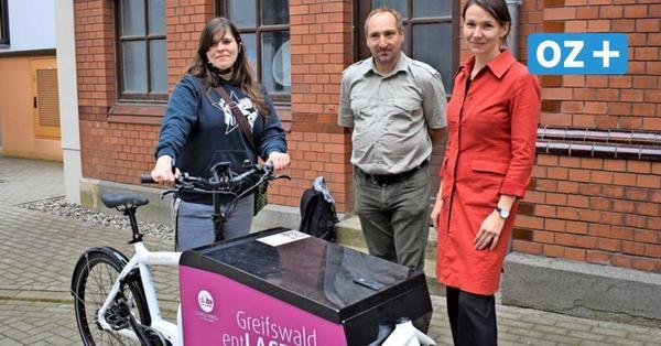 Lastenräder werden in Greifswald immer populärer