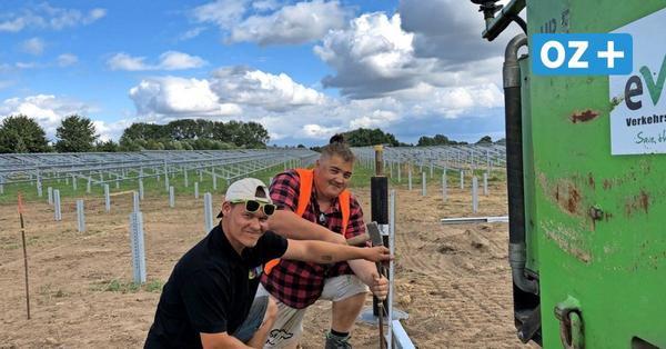Greifswald: Größtes Solarthermiefeld Deutschlands entsteht