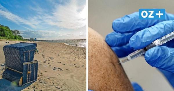 Corona-Impfaktion an Lubminer Strand stößt zum Start auf reges Interesse