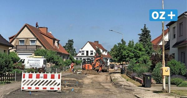 Grimmen: Bauarbeiten in der Jahnstraße dauern länger