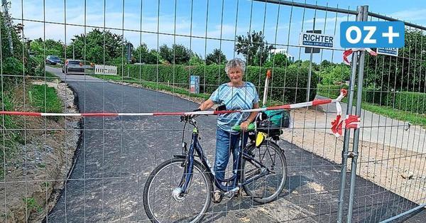 """Ostseeküstenradweg in Wismar noch Monate gesperrt: """"Das ist eine Katastrophe"""""""