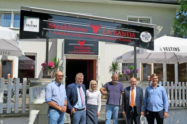 Direkt am Ernst-Walter-Weg befindet sich das Restaurant. (Foto: Jens Wegener)