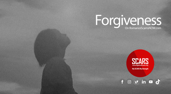 Forgiveness and Scams - Why It Matters So Much! | Recovery for Victims