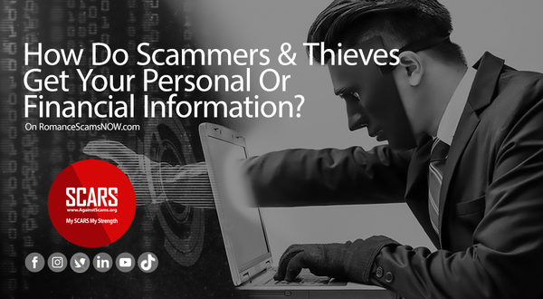 How Do Scammers & Thieves Get Your Personal & Financial Information? | SCARS - Insights