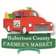 Robertson County Farmers Market   Saturday 8-12:00 @ Rob Co Fairgrounds