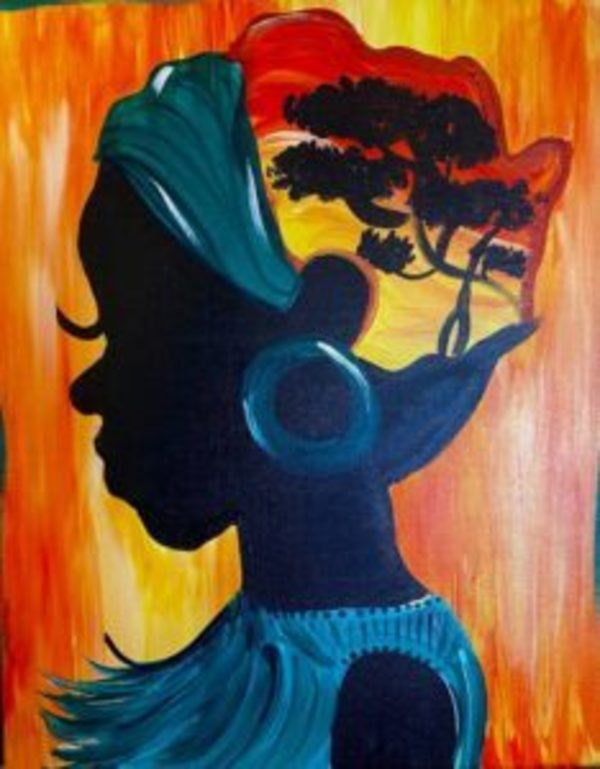 Willow Oak's next Painting Party on Friday, August 13, 7 - 10pm