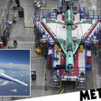 Nasa timelapse shows the 'Son of Concorde' being constructed