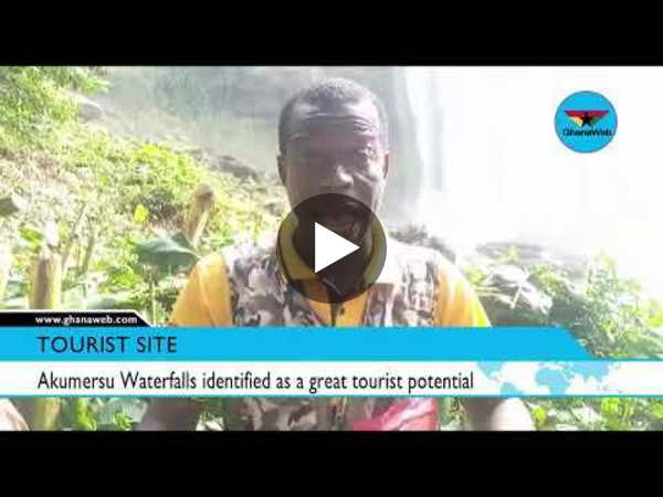 Akumersu Waterfalls identified as a great tourist potential