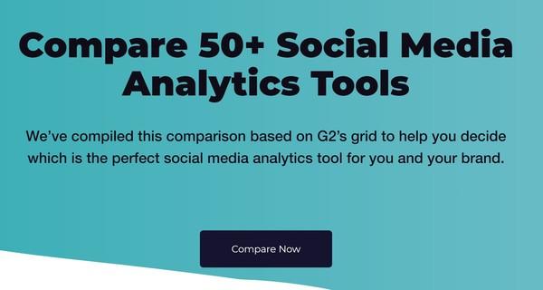 Top 50 Social Media Analytics Tools