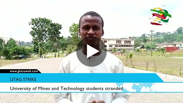 University of Mines and Technology students stranded