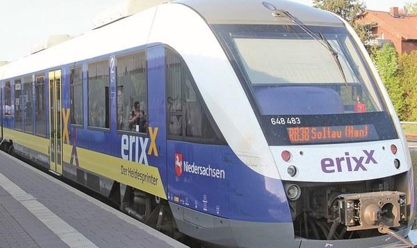 Erixx lässt wieder Busse rollen - Heidekreis - Walsroder Zeitung