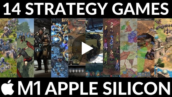 14 Best Strategy Games for M1 Apple Silicon Mac 2021