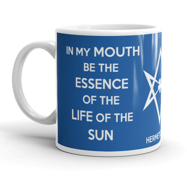 Refreshed design on mug merch for August