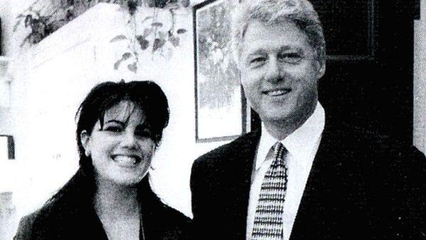 Bill Clinton and Monica Lewinsky -Getty Image